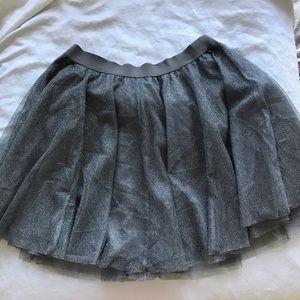 Lauren Conrad tulle tutu silver skirt L